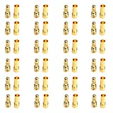 24pairs 3.5 mm Gold Bullet Plug Connector Banana Plug for RC Brushless ESC Motor