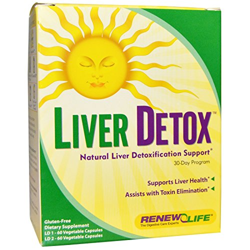 Liver Detox Renew Life Capsule product image