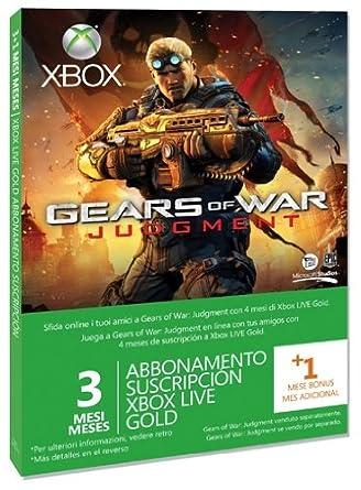 Microsoft Xbox 360 - Pack Tarjeta Live 3 Meses Gold + 1 Mes ...