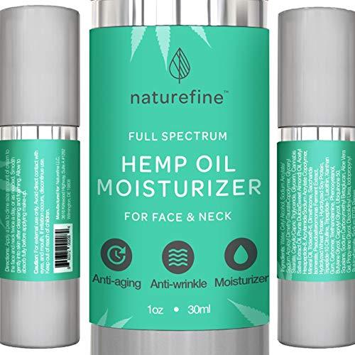 Hemp Oil Lotion :: Full Spectrum Hemp Oil :: Retinol Moisturizer :: Anti Aging Cream :: Anti Wrinkle Lotion :: Face & Neck-