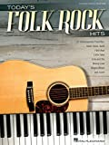hal leonard today s folk rock hits piano vocal guitar songbook