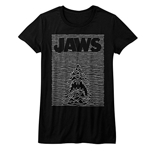 shirt Junior Jaws 1970 For Boy 2bhip Cartoon Cartoon Isla Spielberg Movie T De Shark Black Thriller pw7xq74P