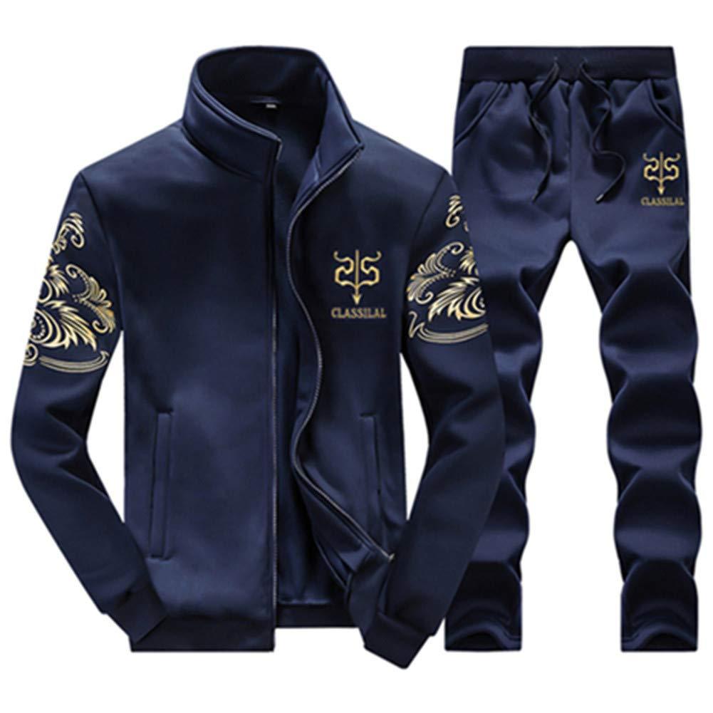 WYX Chándales Sudadera para Hombre 2019 Gyms Spring Jacket + Pants ...