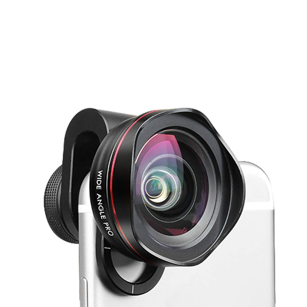 ZYLFN Cell Phone Camera Lens, 110° Wide Angle Clip-on Lens Kit for Samsung Android & Most Smartphones
