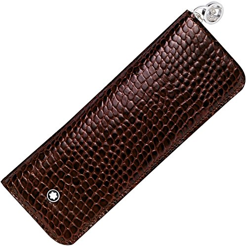 Montblanc 107398 2 Pen Pouch with Zip by MONTBLANC