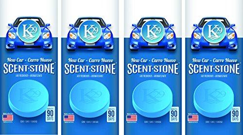 Sterling Teal (K16002-4) K29 'New Car' Stone Air Freshener, (Pack of 4)