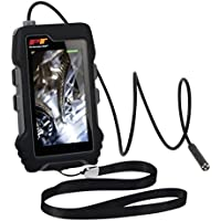 Performance Tool W50072 4.3 LCD Color Screen Handheld Industrial Endoscope, Waterproof Snake Borescope, Digital Inspection Camera Kit with 35-Inch Flexible Probe Camera Cord