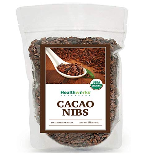 Healthworks Cacao Nibs Certified Organic, -