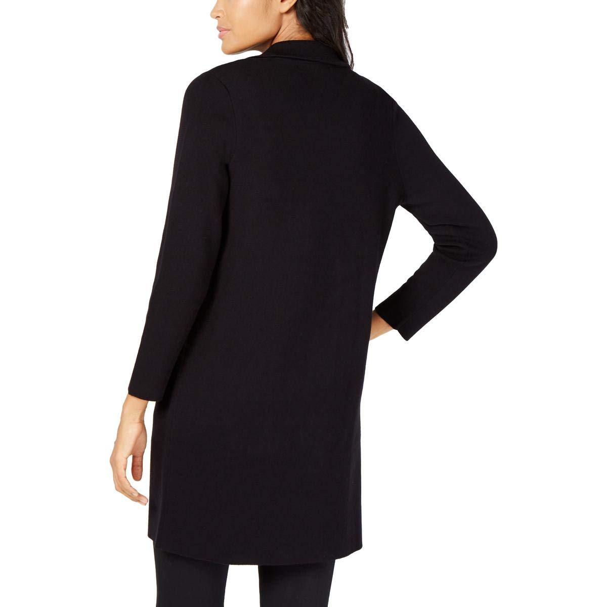 Alfani Womens Colorblock Long Duster Sweater