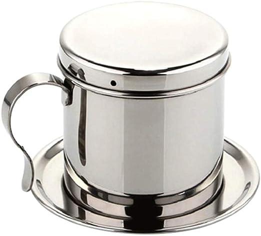 LNYJ Cafetera de Goteo de Acero Inoxidable Manual Mocha Stovetop ...