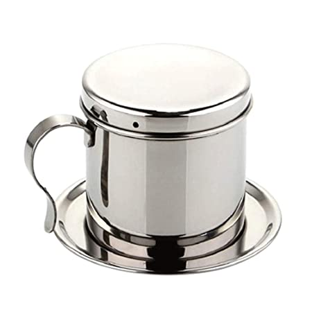LNYJ Cafetera de Goteo de Acero Inoxidable Manual Mocha ...