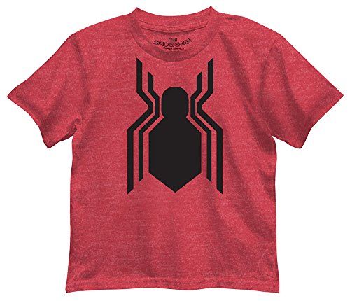 Marvel Little Boys' Spider-Man Homecoming Logo T-Shirt