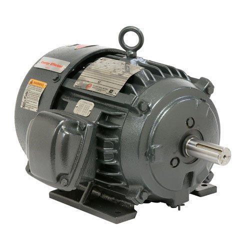 - US Motors (Nidec) YC10P1B - Explosion Proof/Hazardous Location Motor - 3 ph, 10 hp, 3600 rpm, 230/460 V, 215T Frame, TEFC Enclosure, 60 Hz