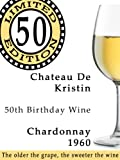 50th Birthday Gift Wine Label - Limited Edition