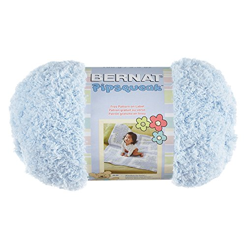 Bernat Pipsqueak Yarn 5 Bulky Gauge  - 3.5oz  - Blue - Baby Soft Yarn Machine Wash & Dry