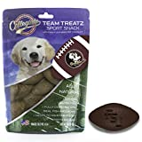 Pets First NCAA FLORIDA STATE SEMINOLES DOG TREATS. Delicious Football Shaped Cookies for Dogs with COLLEGIATE LOGO. Best Dog Rewards. Natural & Healthy Dental Dog Snack.