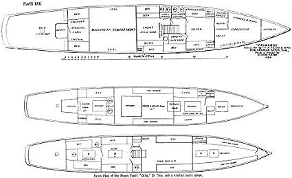 steam yacht diagram wiring diagrams simple Diagram of a Sailing Yacht amazon com steam yacht cabin plan \u0027primrose\u0027 \u0027celia\u0027, payne 1891 yacht terminology steam yacht diagram