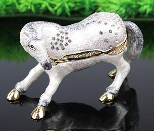 Horse Jeweled Box - 3
