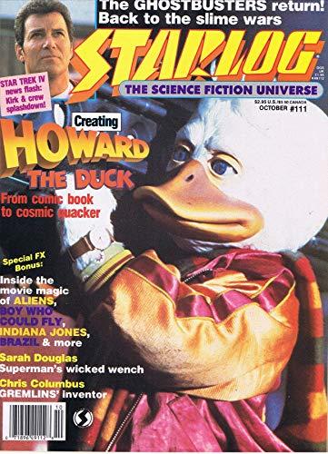 Starlog Magazine The Sci Fi Comics: October 1986
