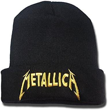 Amazon.com  Metallica Band Logo Beanie Fashion Unisex Embroidery Beanies  Skullies Knitted Hats Skull Caps (6876035697416)  Books ca4ae6a41289