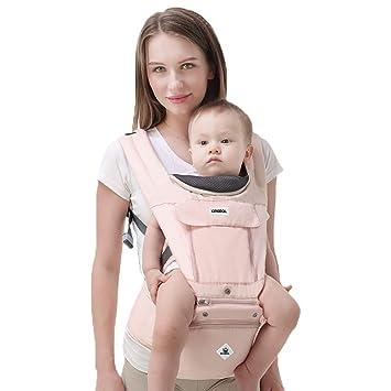 18d81ce76e3 Rufun Porte-Bébé Baby Carrier Ergonomique Siège de la Hanche Boîte de  Rangement pour Nouveau