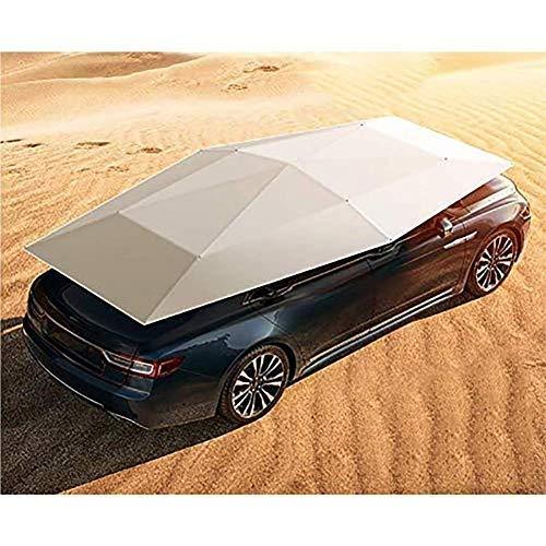 EGECL Sedan Car Cover - Waterproof Dust Sun UV Car Umbrella Sun Awning - Four-Season Car Awning Roof Cover - Universal - 450X230cm