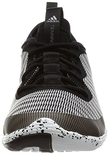 adidas Damen Crazymove TR Fitnessschuhe, Blau, XL Black (Negbas / Nocmét / Ftwbla)