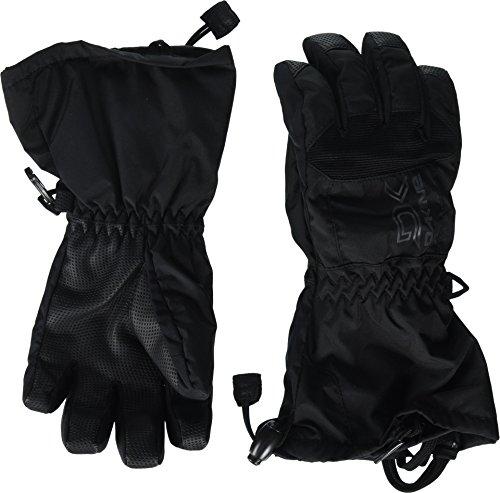 Dakine Kids Black Scout Jr Glove (Youth Gauntlet Gloves)