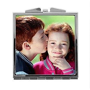 LolaPix Espejo Cuadrado Personalizado con tu Foto, diseño o Texto, Original y Exclusivo. Varias Formas 14