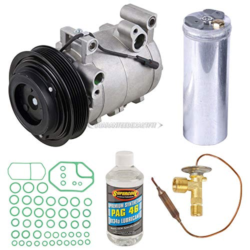 AC Compressor w/A/C Repair Kit For Honda Passport & Isuzu Amigo Rodeo Axiom - BuyAutoParts 60-80173RK New ()