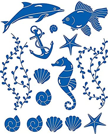 Fisherman Finds - 19016345 - Ceramic Decal - Enamel Decal - Glass Decal - Waterslide Decal - 3 Different Size Sheet (Images) to Choose from. Choose Either Ceramic (Enamel) or Glass Fusing Decals XpressionDecals