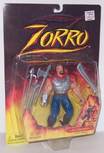 Zorro Action Figure Playmates 1997 Il Malvagio Machete