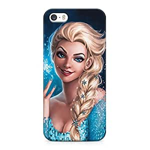 Frozen Elsa Hard Plastic Snap-On Case Cover For iPhone 5 and iPhone 5s