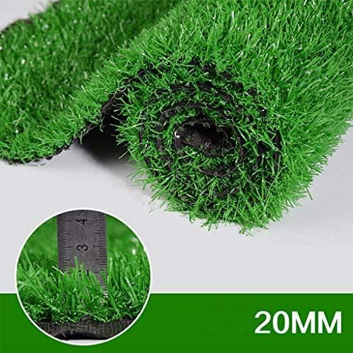 人工芝屋外緑 ダコタ20 mm杭高人工芝、6フィート6