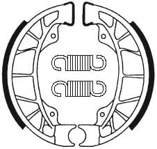 MACHOIOS DE FRENO TRASERO Reemplazo para TYPHOON//VESPA ET2 ET4 ZIP//SFERA//HEXAGON//SKIPPER BA195 Compatible con