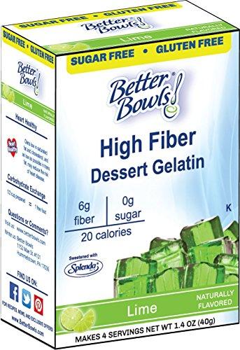 Better Bowls Sugar Free Lime Gelatin Mix 1.4oz.(Pack of (Lime Gelatin)