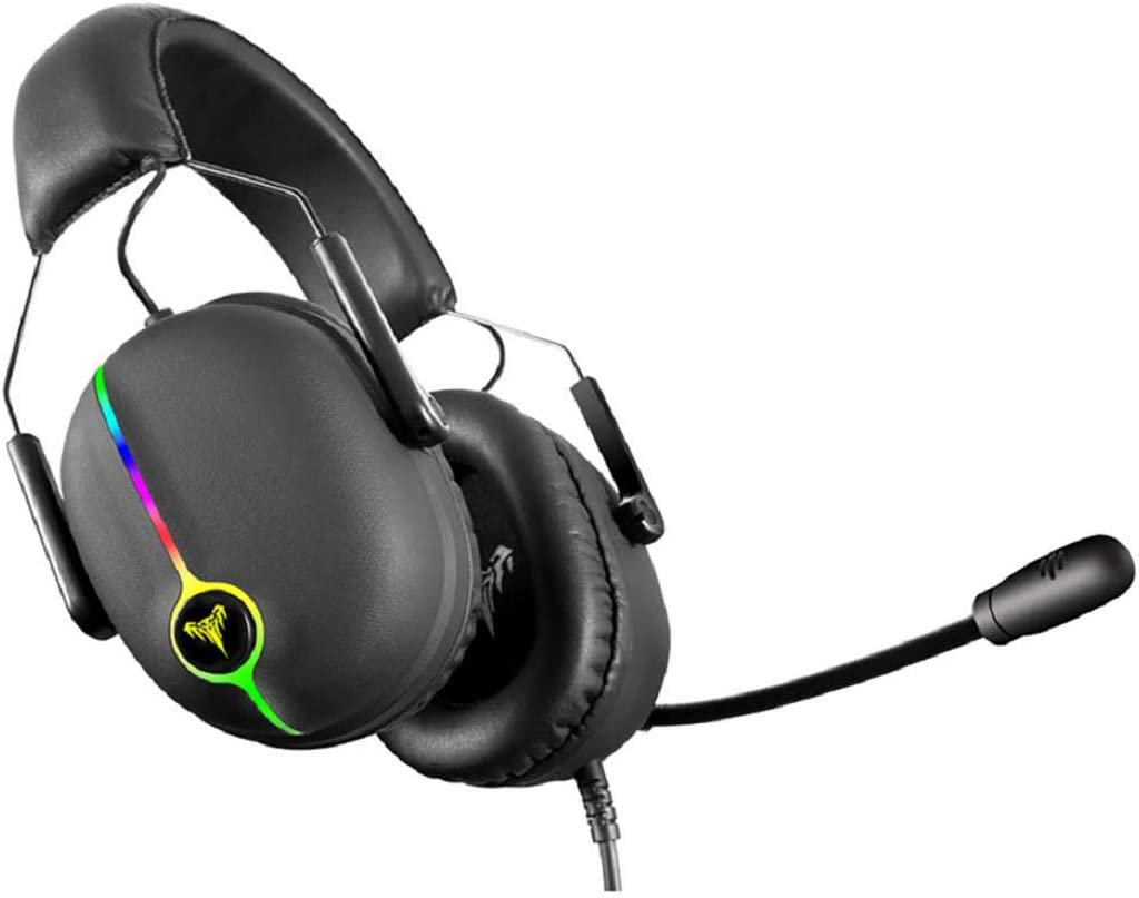 Vacally High Fidelity HiFi Gaming Headset Dynamic Microphone Headset Physics 7.1 Gaming Headset Headset Gaming Headset