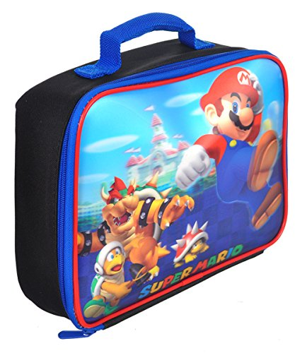 Super Mario Soft Lunch Box (Mario Lenticular) (Mario Accessory Child Kit)