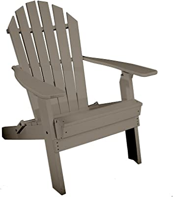 Amazon.com : Rocky Ridge Outdoor Furniture Recycled Plastic Folding ...
