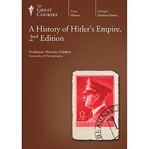 Price comparison product image The Great Courses: A History of Hitler's Empire, 2nd Edition