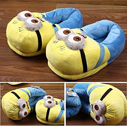Stupendous Amazon Com Despicable Me 2 Minion Figure Shoes Plush Toy Inzonedesignstudio Interior Chair Design Inzonedesignstudiocom