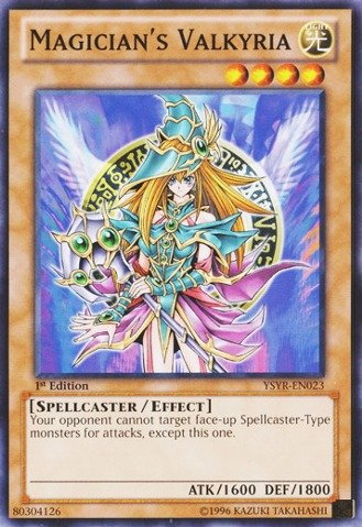 Yu-Gi-Oh! - Magician's Valkyria (YSYR-EN023) - Starter Deck: Yugi Reloaded - 1st Edition - Common
