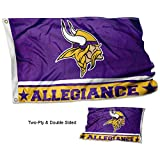 Cheap WinCraft Minnesota Vikings Double Sided Allegiance Flag