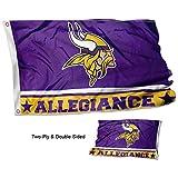 WinCraft Minnesota Vikings Double Sided Allegiance Flag