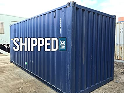 20FT USED Cargo Worthy Steel Shipping Container in CA Secure Water