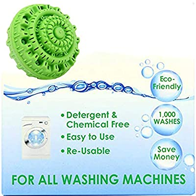 Green Clean Wash Ball,Reusable Non-Toxic Eco-Friendly and Chemical-Free Super Laundry Balls