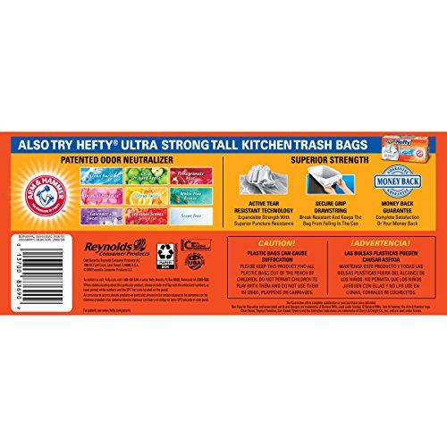 Hefty Strong Trash Bags (Tall Kitchen Drawstring, 13 Gallon, 90 Count)>