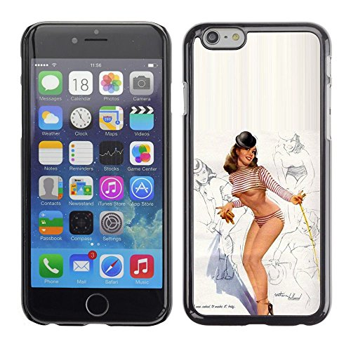 All Phone Most Case / Hard PC Metal piece Shell Slim Cover Protective Case Housse Coque Étui de protection pour Apple Iphone 6 pin up model lingerie sexy legs breast