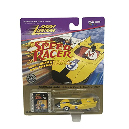 Johnny Lightning Speed Racer Shooting Star 1:64 Scale Diecast Replicas