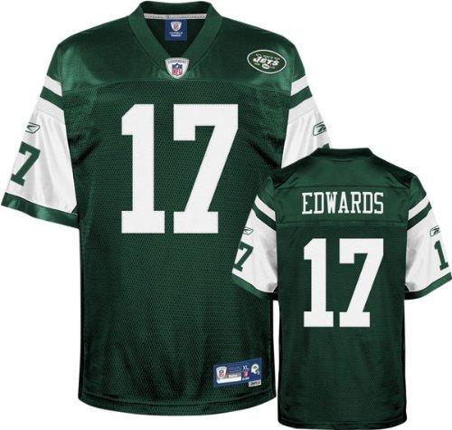 - Braylon Edwards Green Reebok NFL Premier New York Jets Jersey - Large